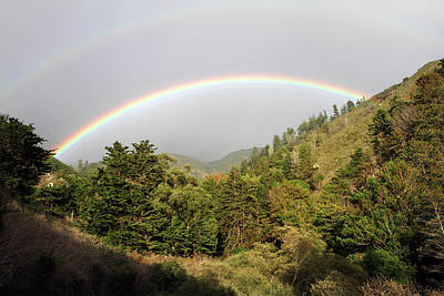 Photograph - Big Sur Rainbow by Pierre Leclerc Photography
