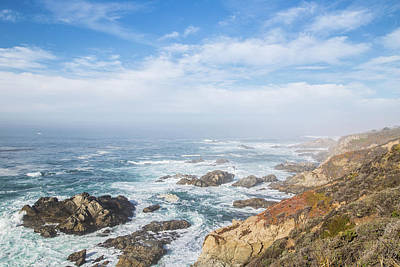 Photograph - Big Sur Sea View by Jingjits Photography
