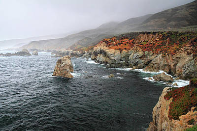 Photograph - Big Sur Storm by Pierre Leclerc Photography