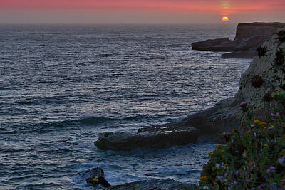 Photograph - Big Sur Sunset by Michael Gordon