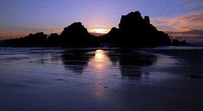 Photograph - Big Sur Sunset by Pierre Leclerc Photography