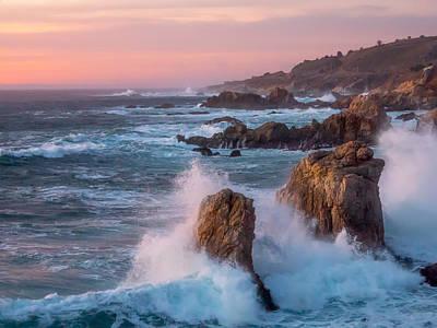 Photograph - Big Sur Twilight by Derek Dean