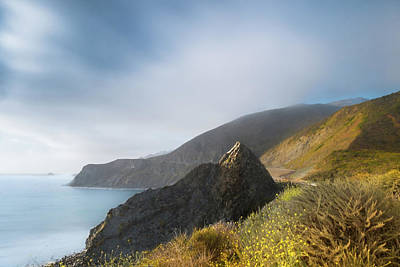 Photograph - Big Sur View, California by Marty Garland