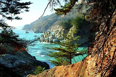 Photograph - Big Sur Vista by Charlene Mitchell