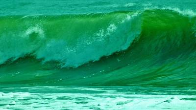 Photograph - Big Surf 2 by John Wartman