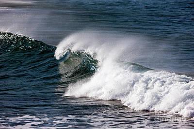 Photograph - Big Surf, Great Ocean Road, Australia by John Gaffen