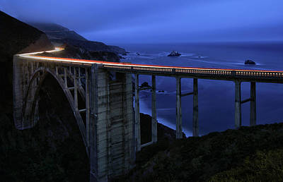 Photograph - Bixby Bridge  by Art Cole