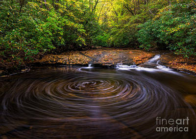 Photograph - Big Swirl by Anthony Heflin