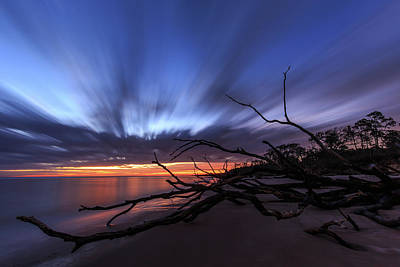 Photograph - Big Talbot Island At Twilight 3x2 by Stefan Mazzola