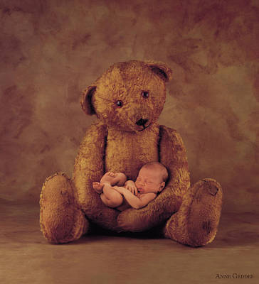 Wall Art - Photograph - Big Ted by Anne Geddes