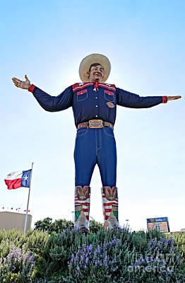 Tex Photograph - Big Tex by Charles Dobbs