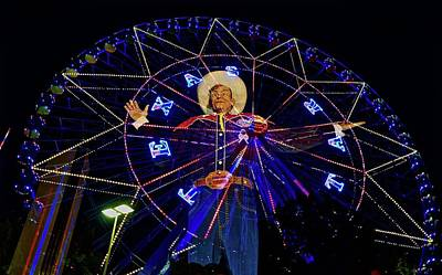 Photograph - Big Tex Version 2 by John Babis