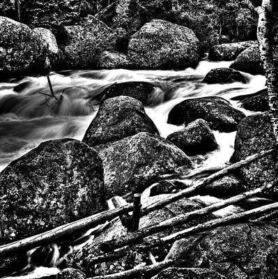 Photograph - Big Thompson River by Roger Passman
