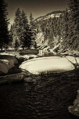 Photograph - Big Thompson River Spring by Roger Passman