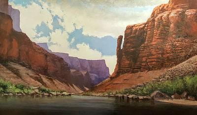 Painting - Big Thumb Bebd by Jessica Anne Thomas