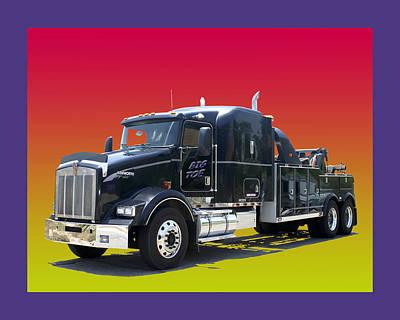 Photograph - Big Toe Tow Truck by Jack Pumphrey