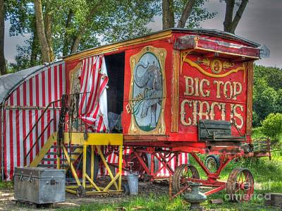 Big Top Circus II Art Print