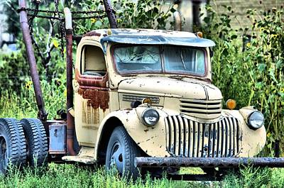 Photograph - Big Tow by Jacqui Binford-Bell