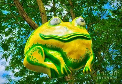 Photograph - Big Tree Frog by Mel Steinhauer