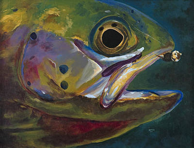 Big Trout Art Print