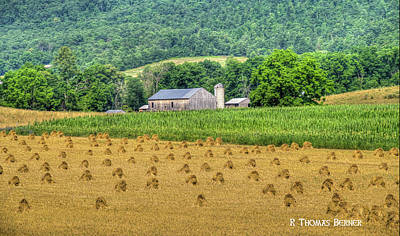 Photograph - Big Valley Barn by R Thomas Berner