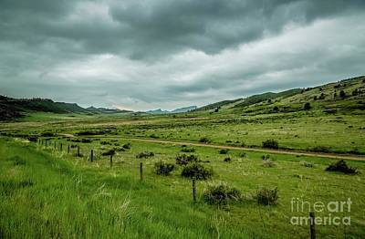 Photograph - Big Valley by Jon Burch Photography