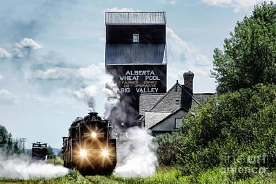 Big Valley Steam Art Print