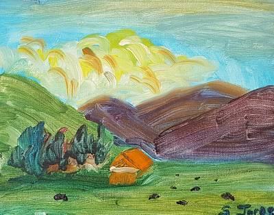Painting - Big Valley by Steve Jorde