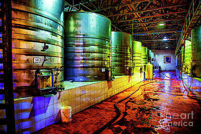 Photograph - Big Vats by Rick Bragan