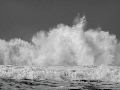 Photograph - Big Wave by Jacklyn Duryea Fraizer