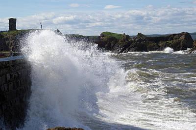 Photograph - Big Waves At Dunbar by Rod Jones