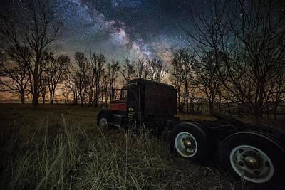 Optimus Photograph - Big Wheel by Aaron J Groen