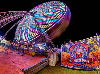 Photograph - Big Wheel by Shirley Radabaugh