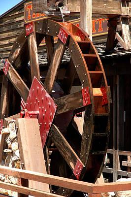 Big Wheels Keep On Turning Print by LeeAnn McLaneGoetz McLaneGoetzStudioLLCcom