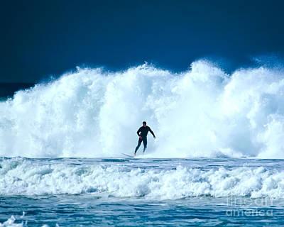 Digital Art - Big White Water On A Big Surf Day by Waterdancer