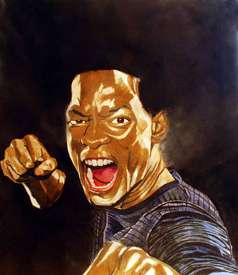 Will Smith Drawing - Big Wiliie by Andrew Ormes