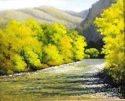 Painting - Big Wood River by Boris Garibyan