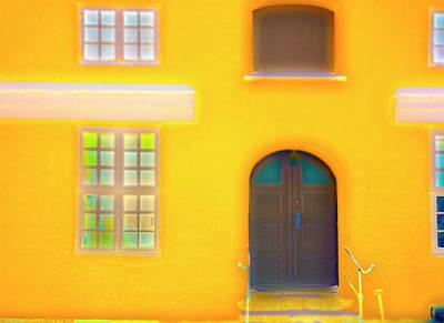 Photograph - Big Yellow L by Jan W Faul