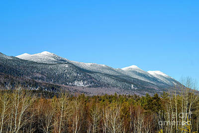 Photograph - Bigelow Mountain Maine by Alana Ranney
