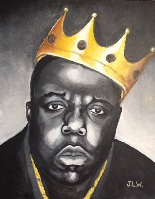 Painting - Biggie 3 by Justin Lee Williams