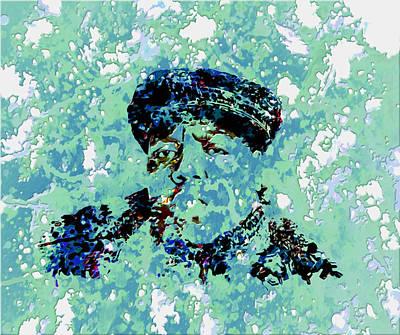 Lil Kim Digital Art - Biggie Smalls 2c by Brian Reaves