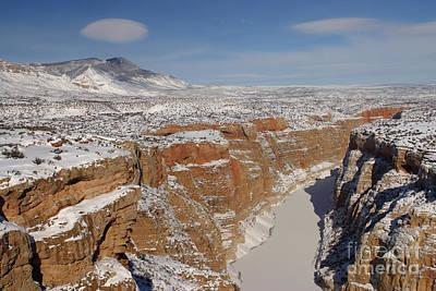 Bighorn Canyon, Montana Art Print