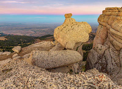 Photograph - Bighorn View by Leland D Howard