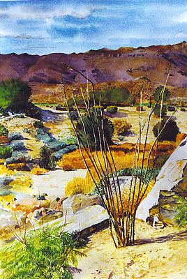 Painting - Bighorn Yard by Tyler Ryder