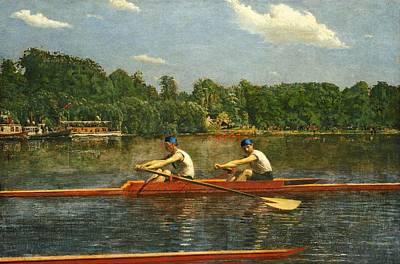 Biglin Brothers  Original by Thomas Eakins