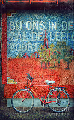Photograph - Bijons Bicycle by Craig J Satterlee