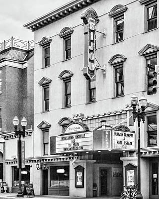 Photograph - Bijou Theatre Crop by Sharon Popek