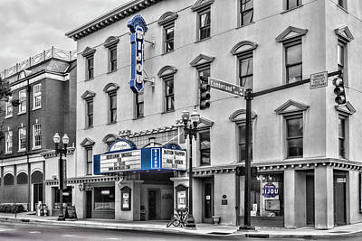Photograph - Bijou Theatre Marquee by Sharon Popek