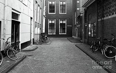 Photograph - Bike Alley by John Rizzuto