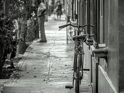 Photograph - Bike At Street by Jaime Quiroz Tirado